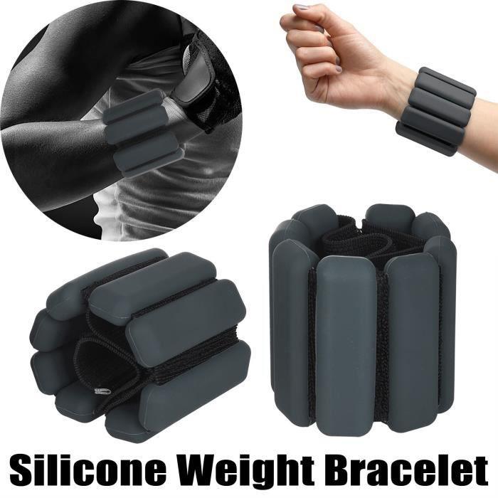 Poids du poignet de musculation Bracelet de poids portable Équipement de fitness 2Pcs 020