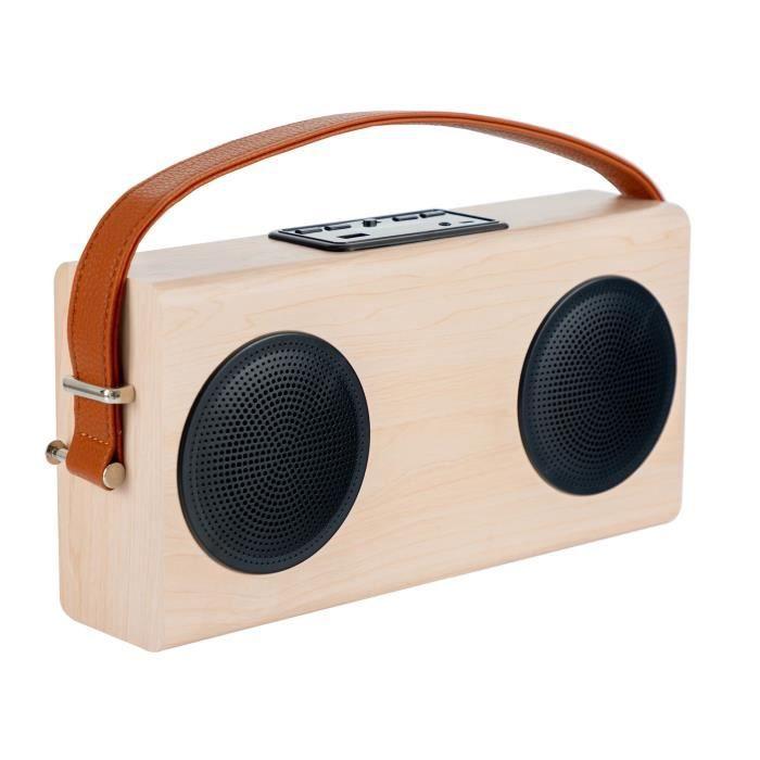 Bennett & Ross Stavanger enceinte boombox Bluetooth avec radio FM et puissance