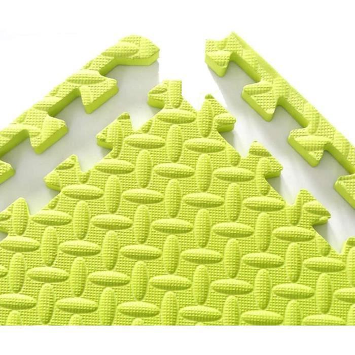Puzzles de sol WAJIEFD Tapis Mousse Enfant Exercice Interverrouillage Sol Carrelage Accueil Chambre Tapis Bébé Antidérap 320166