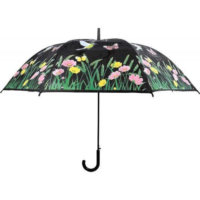 Parapluie oiseau couleurs changeantes