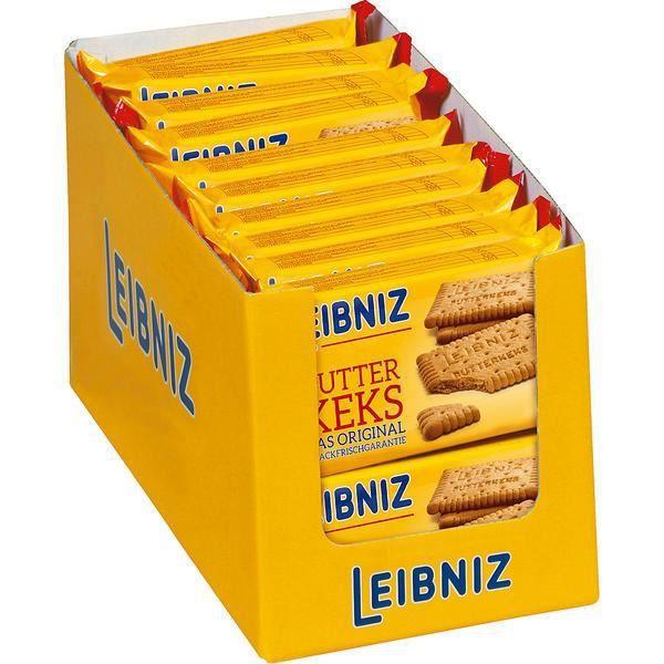 22x Leibniz Biscuit au beurre 50g
