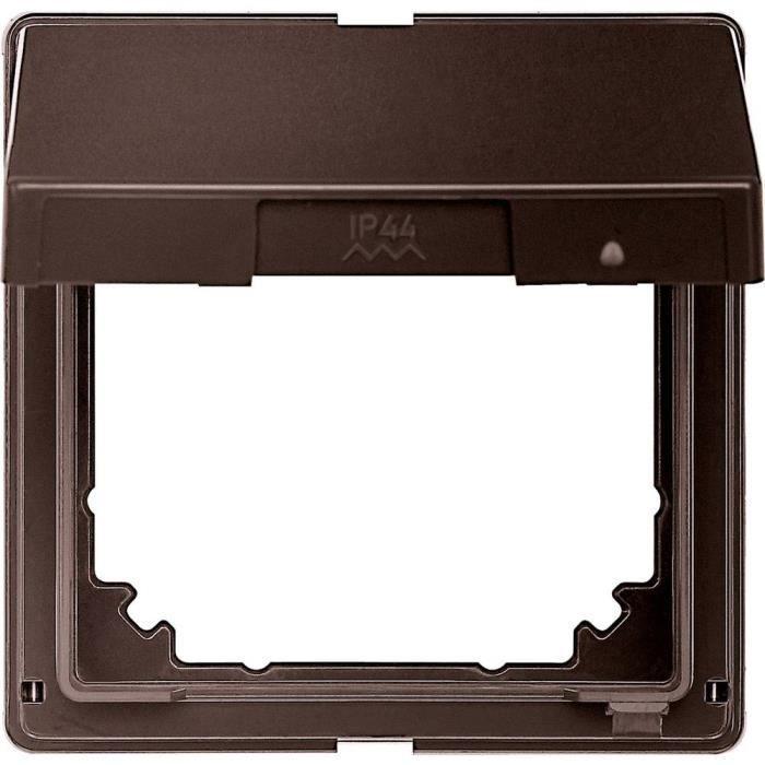 Cache Merten 516515 Aquadesign brun foncé