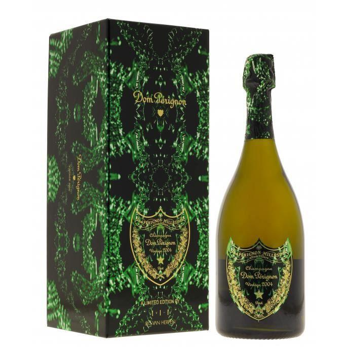 Champagne Dom Perignon Metamorphosis Iris Herpen Blanc 2004