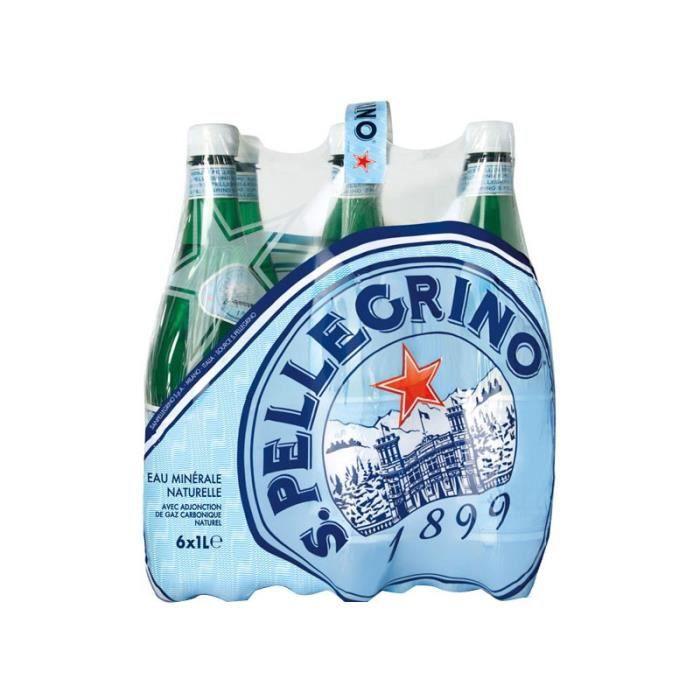San Pellegrino 1L (pack de 6)
