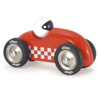 VILAC - 2283R - VOITURE RALLY CHECKERS GM ROUGE…