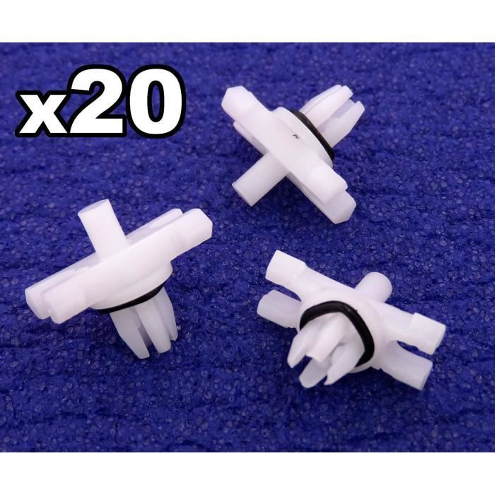 Lot de 10 clips fixation garniture BMW 51138231130