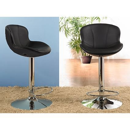 Tabouret de bar noir x2 golf achat vente tabouret de bar cdiscount - Tabouret de bar confortable ...