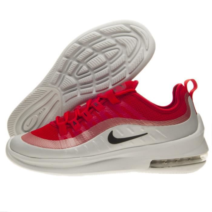 air max axis homme rouge