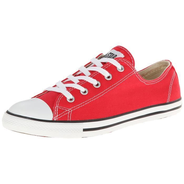 converse dainty femme rouge
