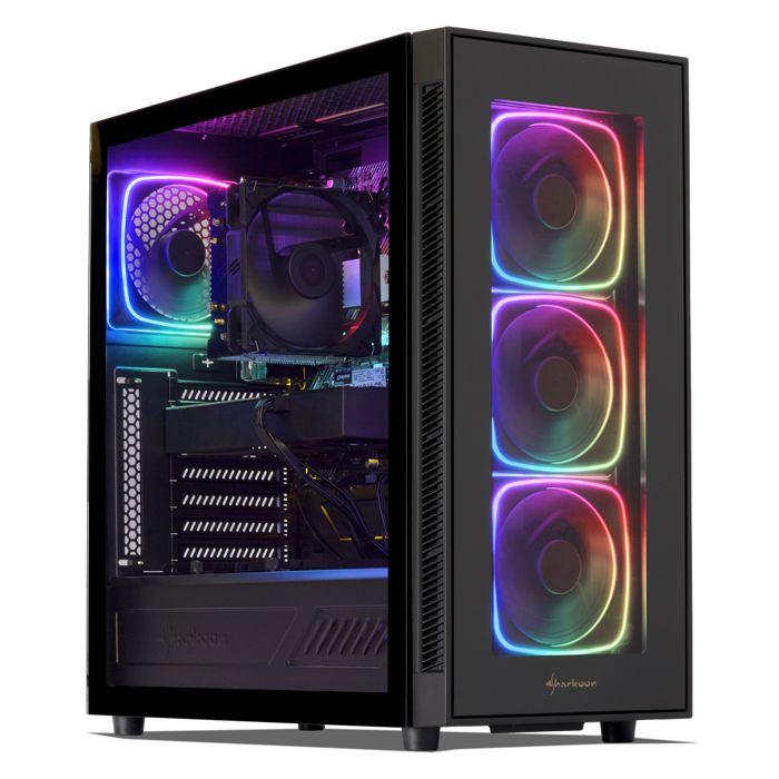UNITÉ CENTRALE  PC Gamer, AMD Ryzen 5, RTX 2070, 500Go SSD NVMe M.