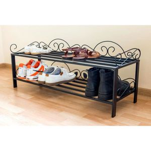 meuble etagere fer forge achat vente pas cher. Black Bedroom Furniture Sets. Home Design Ideas