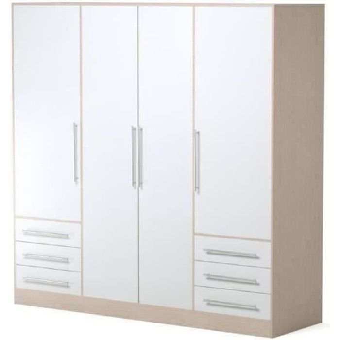 Object moved for Grande armoire blanche pas cher