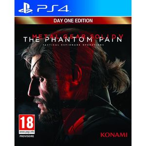 JEU PS4 Metal Gear Solid V : The Phantom Pain Edition Day