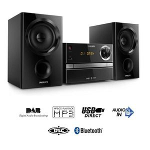 PHILIPS BTB1370/12 Micro Chaîne HiFi CD bluetooth 30W