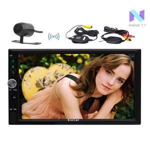 RADAR DE RECUL Caméra de recul sans fil + Android 7.1 Quad core s