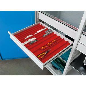 ARMOIRE DE BUREAU Goulotte compacte - pour l x p tiroirs 650 x 540 m