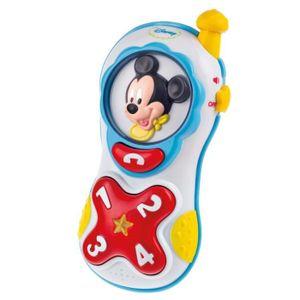 TÉLÉPHONE JOUET CLEMENTONI Disney Baby  - Téléphone Lumière et Son