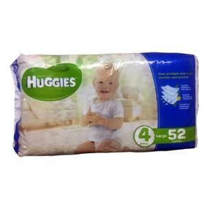 COUCHE Couche jetable bébé Huggies Taille 4 Large 9-15kg