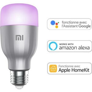 AMPOULE INTELLIGENTE XIAOMI Ampoule LED connectée - 800lm - E27 - 10W