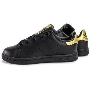 BASKET adidas stan smith noir doré