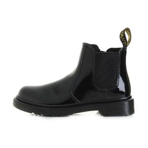 BOTTINE Boots Dr. Martens Banzai Patent Lamper Junior - Re