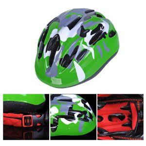CASQUE DE VÉLO Casques de vélo pour enfants (vert)---ROS