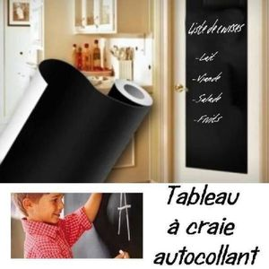 top stickers sheloveit rouleau tableau noir adhesif craie. Black Bedroom Furniture Sets. Home Design Ideas