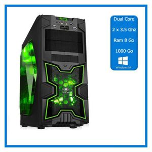 UNITÉ CENTRALE  PC Gamer 2 x 3.5 Ghz -1000 go - DDR4 8 Go - Window