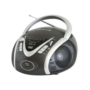 RADIO CD CASSETTE TREVI 0054210 Radio CD Portable - USB - Jack 3,5mm