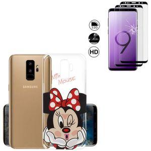 NALIA Coque Integrale Compatible avec Samsung S9 Plus Mince Housse Avant /& Arri/ère Protection avec Screen Protector Ultra-Fine Cover Bumper Telephone Portable Hard-Case Etui Couleur:Noir