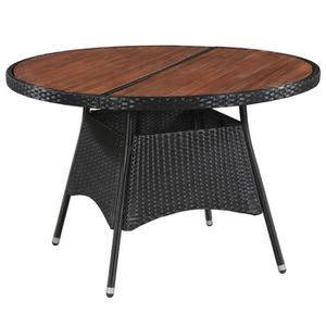 TABLE FLORIDE RONDE EXTERIEUR HESPERIDE - Achat / Vente table de ...