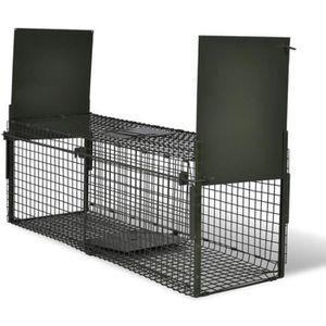 Attrape A Animaux Cage Piege Pour Animaux Chats Chiens Lapins Avec 2 Portes Achat Vente Cage Attrape A Animaux Cage Piege Cdiscount