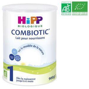 LAIT BÉBÉ HIPP BIOLOGIQUE Combiotic Lait en poudre 1er âge -