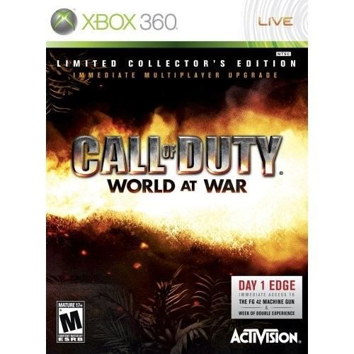 JEUX XBOX 360 Call Of Duty World At War Ed Limitée Jeu XBOX 360