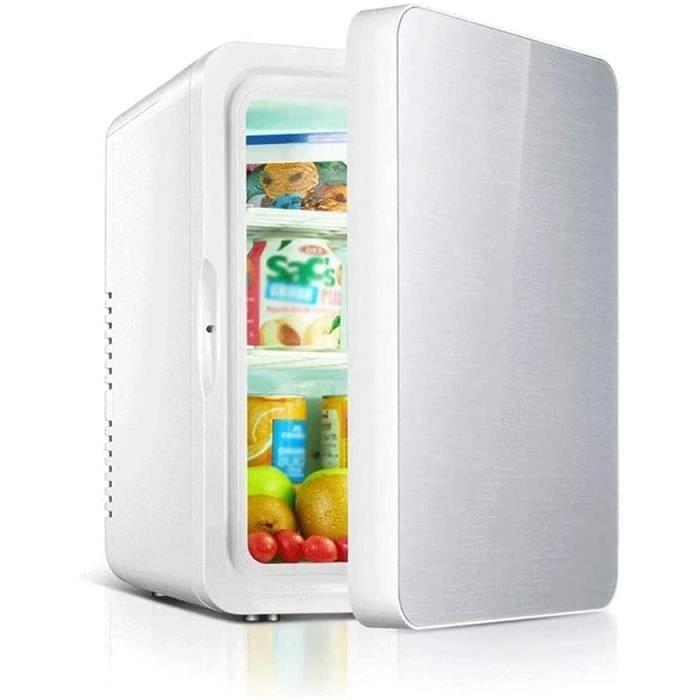 Réfrigérateur Portable pour Voiture, Mini Réfrigérateur 12l Refroidisseur Et Réchauffeur Petit Réfrigérateur Silencieux Glacièr[670]