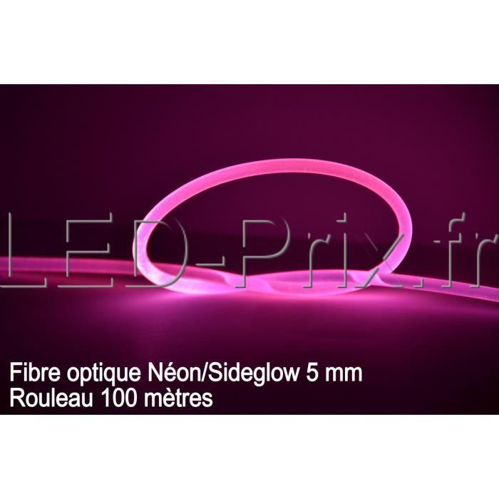 Fibre optique néon/side glow-Rouleau 100 mètres
