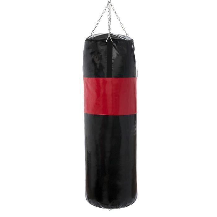 Marbo Sport Sac de boxe renforcé 150 cm fi45 cm non rempli + Torpedo MC-W150 - 45-EX