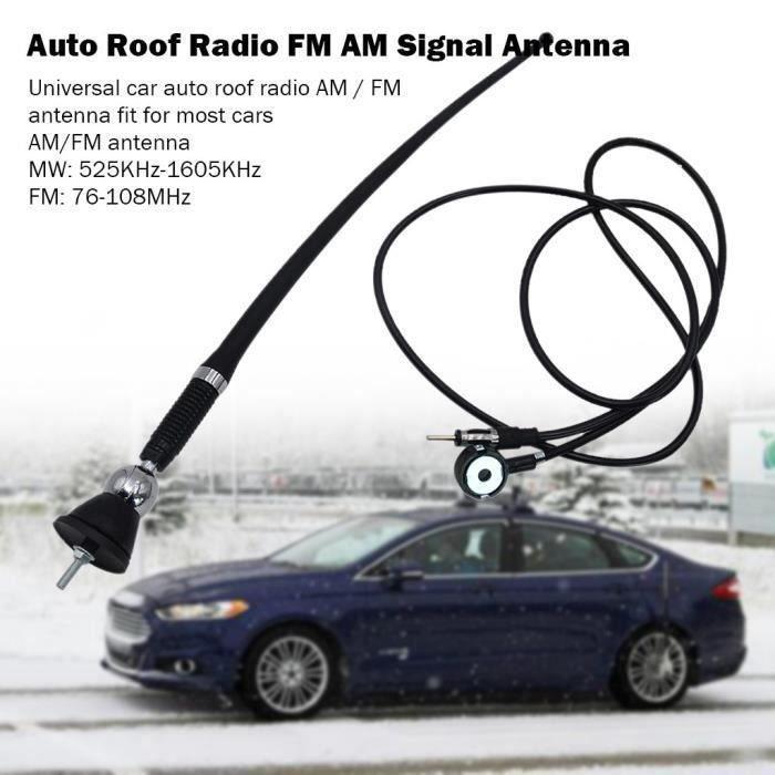 Pivotant Signal automatique universel FM Radio Antenne voiture AM Toit Antenne Jeffrey 2229 zl