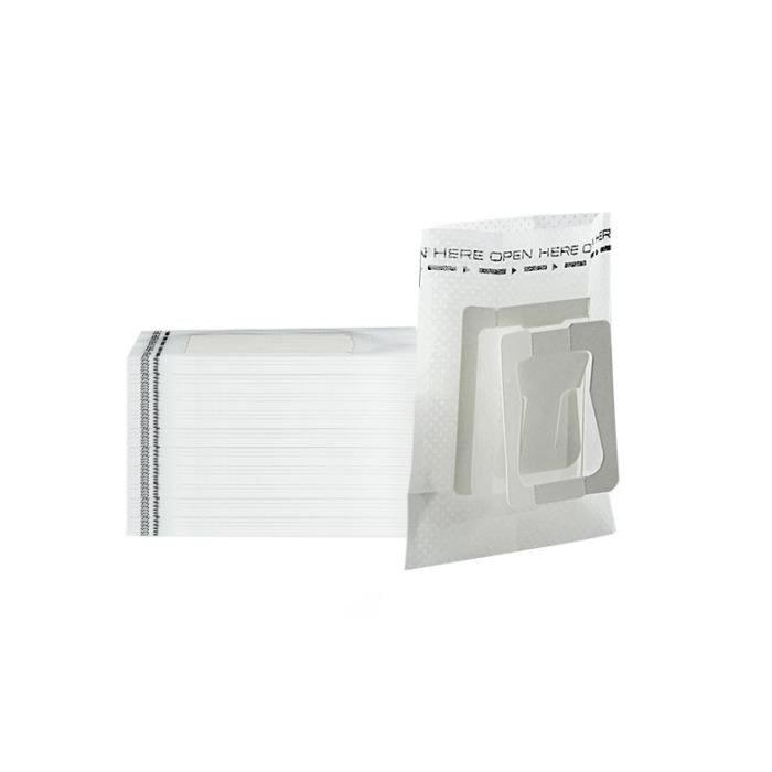 Petit déjeuner - Café,Sachets de café jetables, sachets portables, suspendus à l'oreille, filtres de café - Type WHITE-7.5 x 9 cm #B