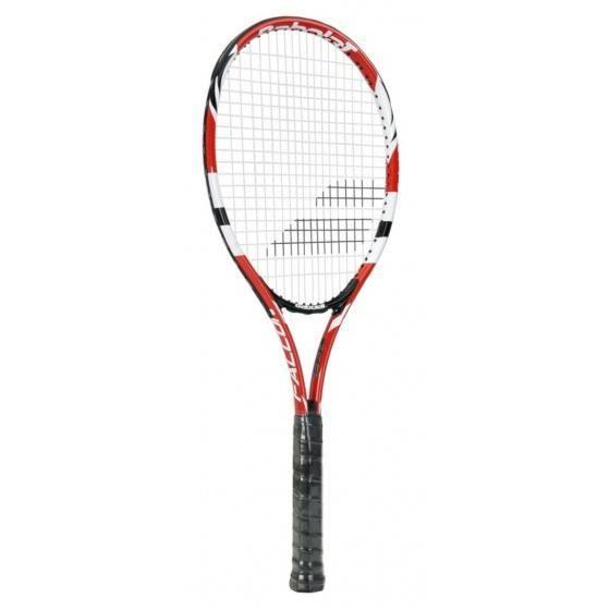 raquette de tennis Falcon NCNFunisexe rouge/blanc mt L2