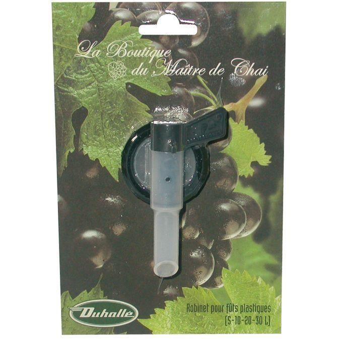 Robinet pour fût en plastique - 5 10 20 et 30 L