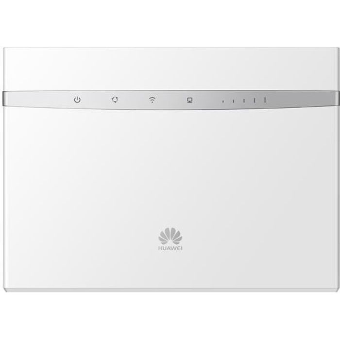 Huawei B525s 23a blanc Routeur 4G+ Lte Lte A Catégorie 6 Gigabit Wifi Ac 2 x Sma antenne externe