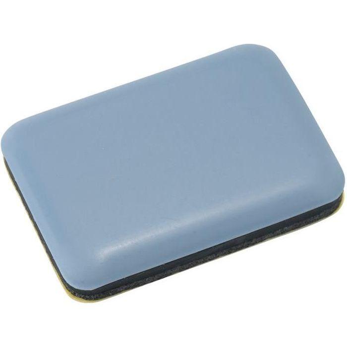 Patin glisseur pour meuble 35x25 mm - lot de 4