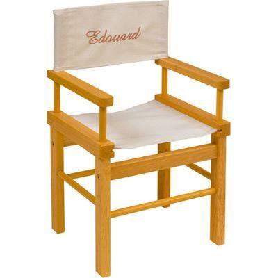 Chaise metteur en scène Bois