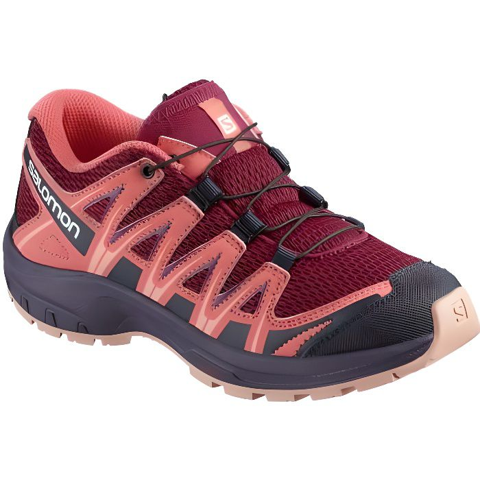 XA Pro 3D J - Chaussures randonnée enfant Cerise. / Dubarry / Peach Amber 38