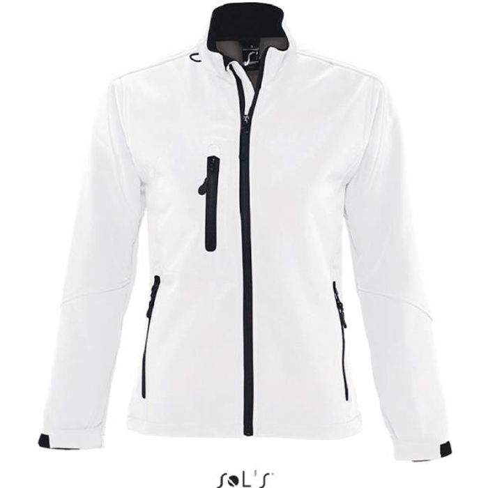 Coupe-Vent Roxy Femme Blanc - XL