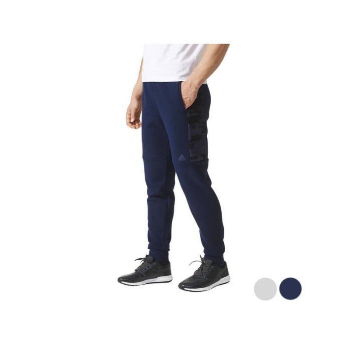 Adidas - Pantalon de Survêtement pour Adultes Adidas Ess Cmo T Pn Fl Blue marine - (Gris - XL)