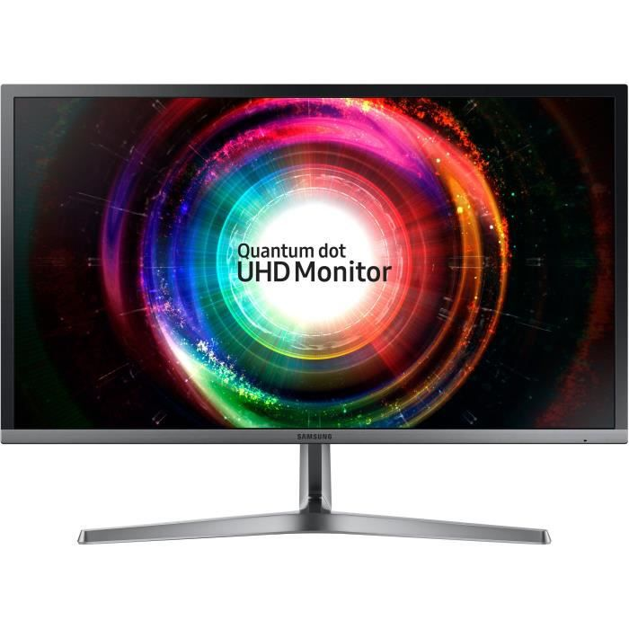 SAMSUNG U28H750 Ecran 28 pouces FLAT QLED - Dalle VA - 1ms - HDMI/DisplayPort - FreeSync