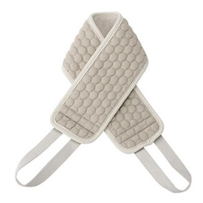 ÉPonges à RéCurer pour le Corps Gris pour la Brosse Corporelle pour les Accessoires de Gant de Toilette Exfoliant pour le Dos