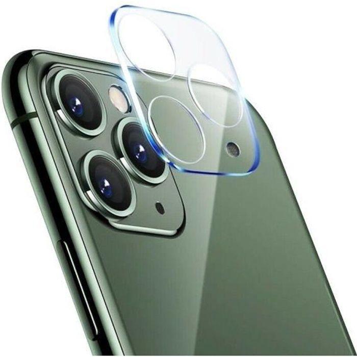 Lentille de Protection de L'appareil Photo Pour Apple iPhone 12 Pro Max Verre Trempé Mince Anti-rayures Anti-empreintes Digitales -
